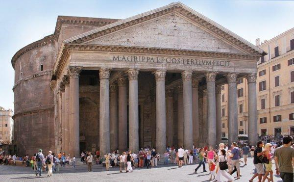pantheon panoramica